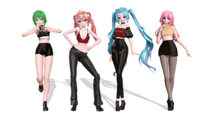// V Girls // DL // 600W Special