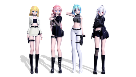 Kill This Love Girls // DL MODELS by MarsIssey