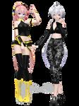 Honey Luka and Haku // DL MODELS