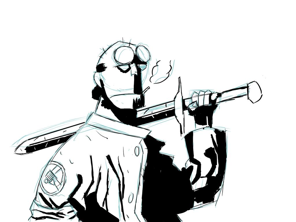 Hellboy by CharismaticWolverine