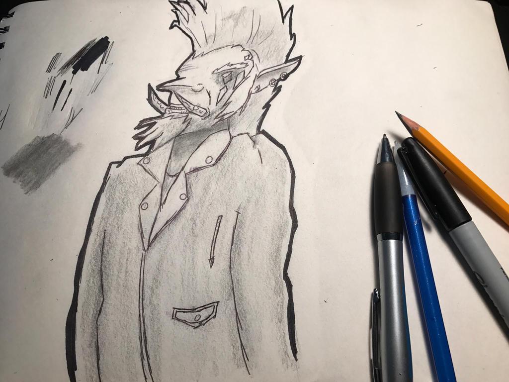 Troll In Leather Jacket by CharismaticWolverine