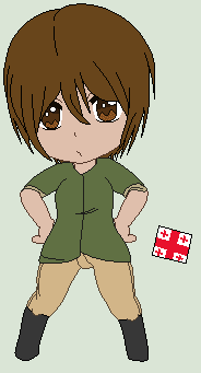 Hetalia OC- Georgia by Karma-Maple