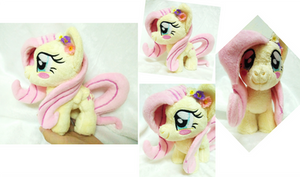 Mini Fluttershy plushie(1/2 Trade) by astuyasiroh09