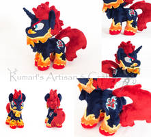 My Hero Academia - Endeavour Pony Plush by astuyasiroh09