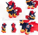 My Hero Academia - Endeavour Pony Plush
