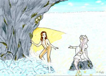 Sir Edward and Mermaid Muri by SW-13