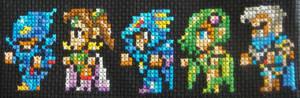 Final Fantasy IV Cross Stitch
