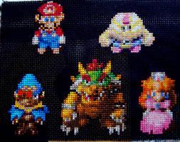 Super Mario RPG Cross Stitch by pixel8bit