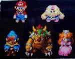 Super Mario RPG Cross Stitch