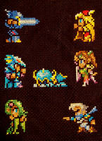 Final Fantasy IV- ver. 2 by pixel8bit
