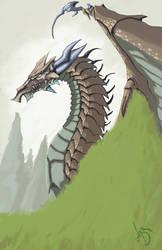 Kiriban: Dragon O.o by HauntedPen