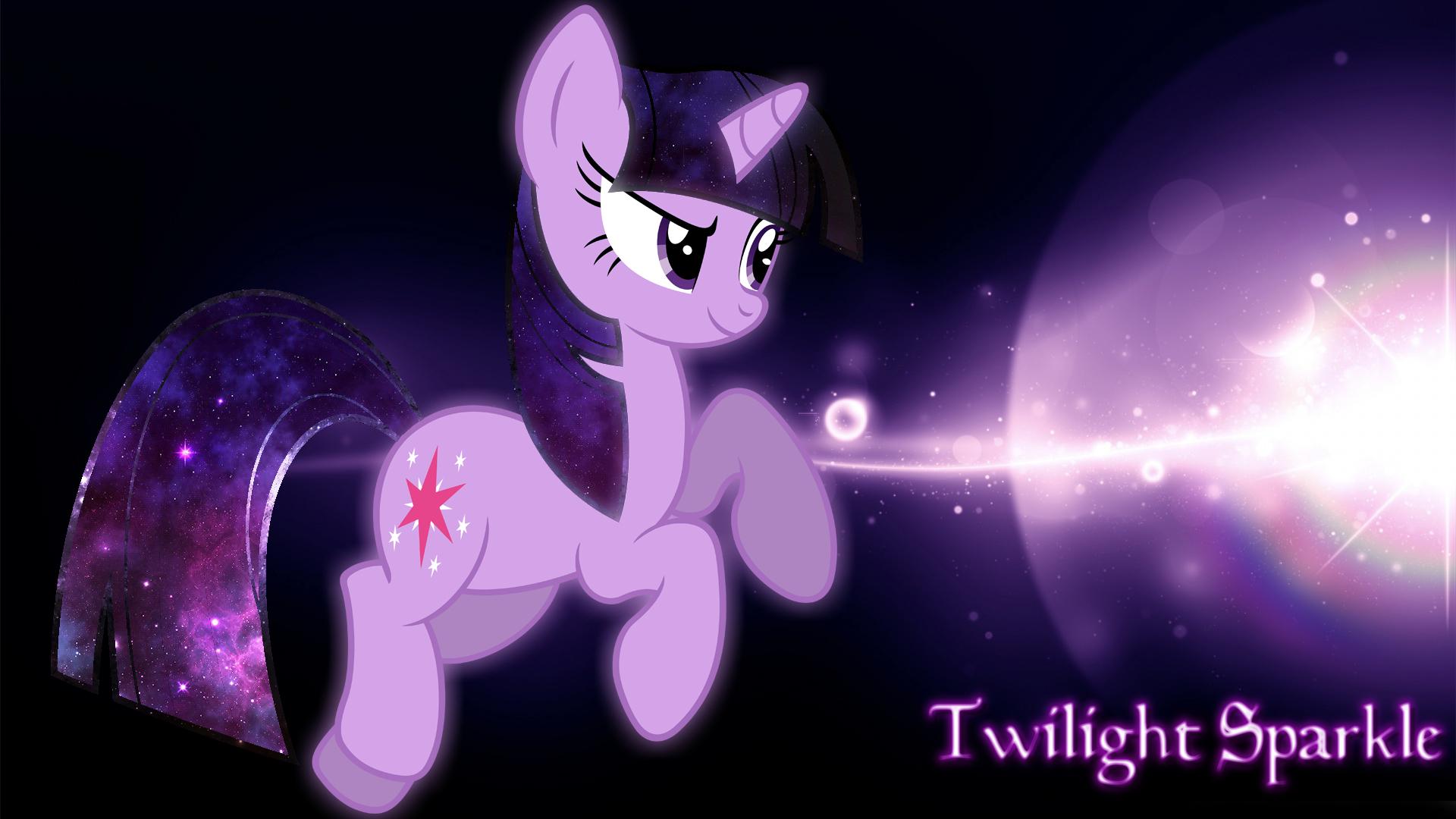 Twilight Sparkle - Universe Wallpaper by NightmareDashy
