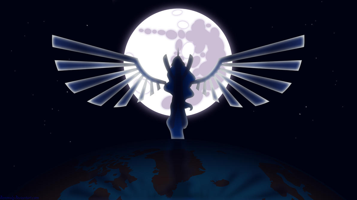 Luna: Rise the Moon - Wallpaper by NightmareDashy