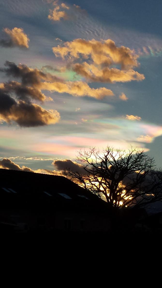 Photography #16 - Rainbow Clouds by NightmareDashy
