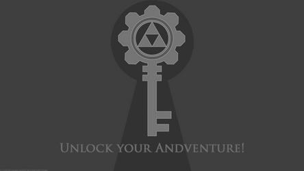 Unlock your Adventure Wallpaper