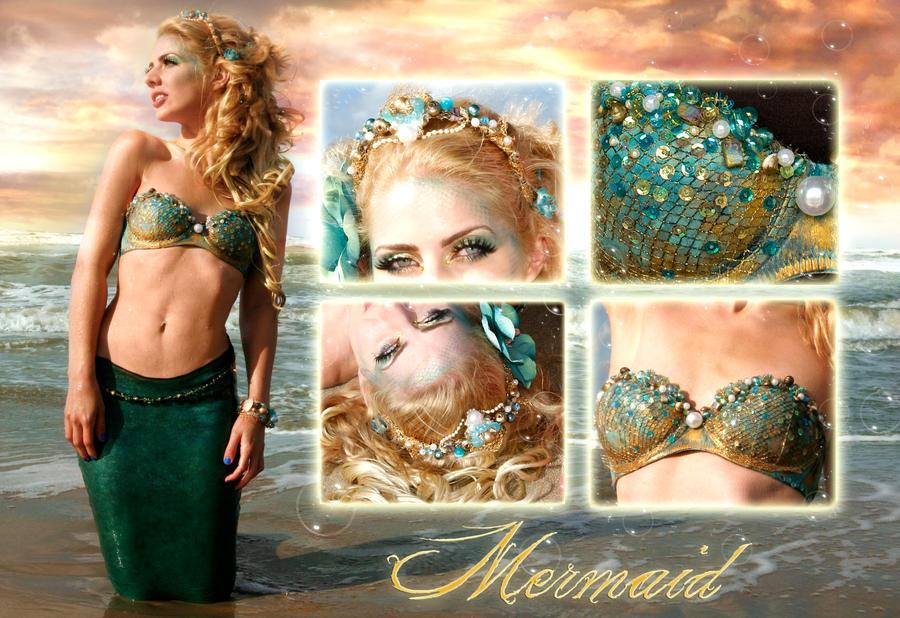 Mermaid costume + accessoires by Jolien-Rosanne