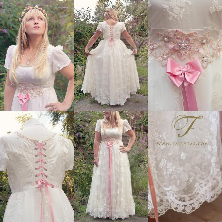 Fairy tale wedding dress commission by Fairytas on DeviantArt