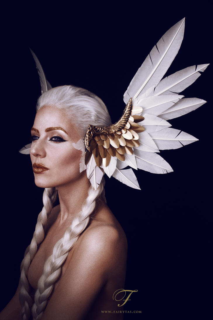 Valkyrie headdress by Fairytas on DeviantArt