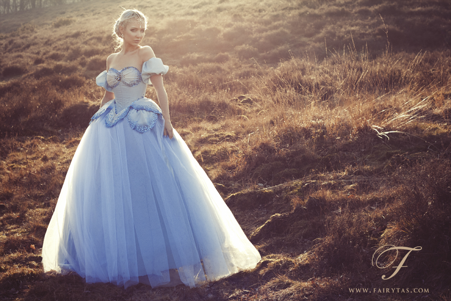 Blue Ball Gown by Jolien-Rosanne