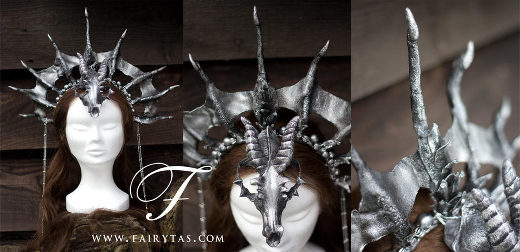 Dragon Priestess headdress by Jolien-Rosanne