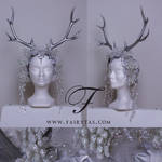 Silver winter Antlers