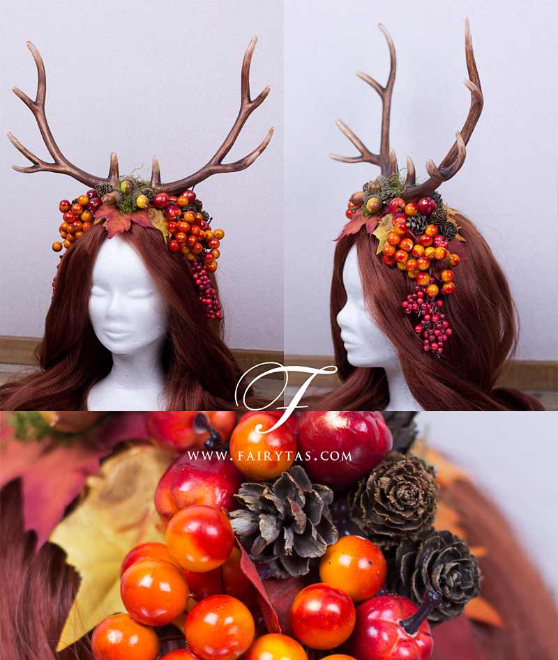 Autumn Antlers by Jolien-Rosanne
