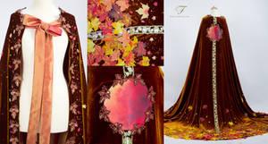 Autumn cape details