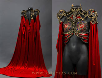 Cathedral/pest dress front and back by Fairytas