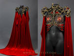 Cathedral/pest dress front and back