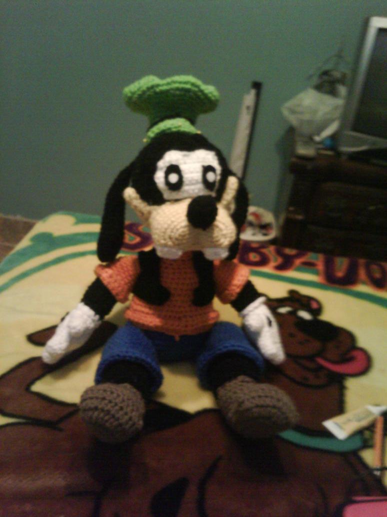 Goofy crochet Plush by EndlessBlueSky on DeviantArt