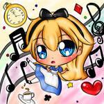 Alice in wonderland chibi