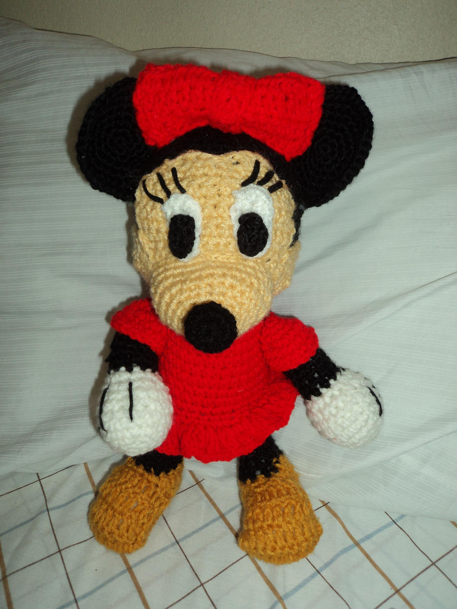 Crochet minnie mouse doll kalulu for minnie mouse crochet by endlessbluesky on deviantart bankloansurffo Choice Image