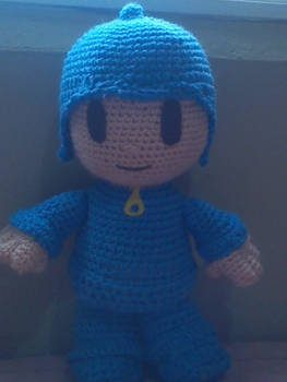 Pocoyo Crochet Plushie