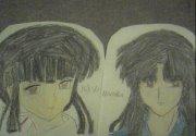 kikyo and naraku by soulXluvXmaka