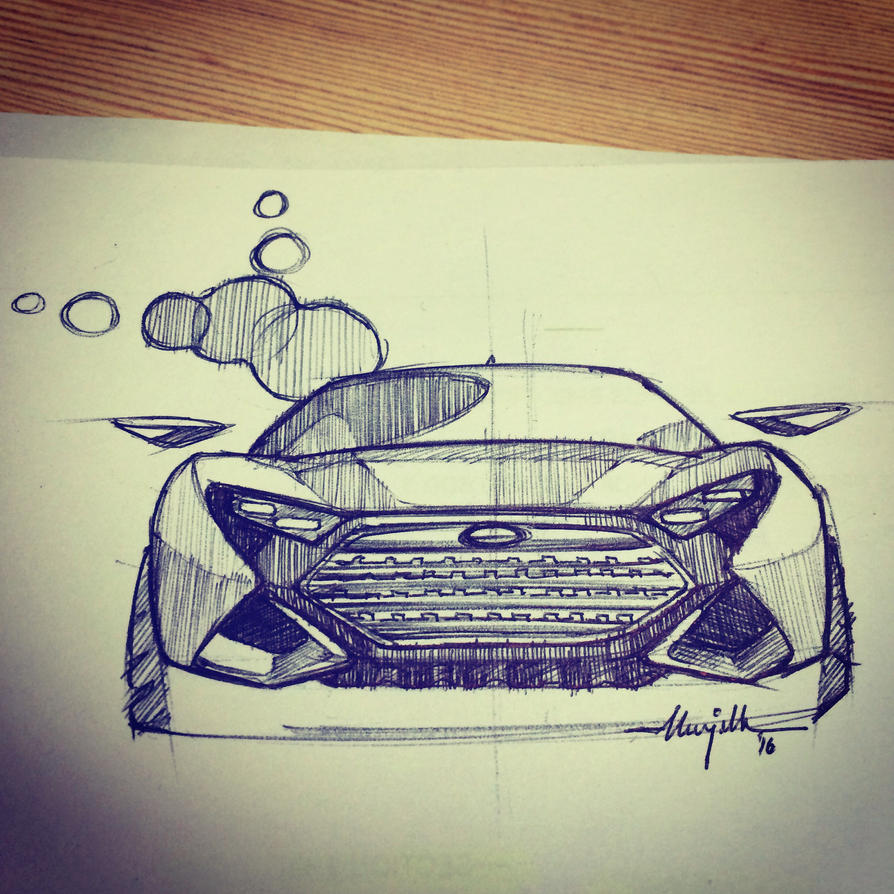 Concept sketching 2016 by turbocharger