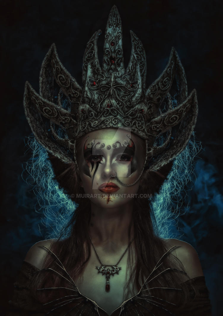 Queen Of The Dammed by muirart