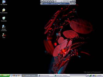 Current desktop by sahroe