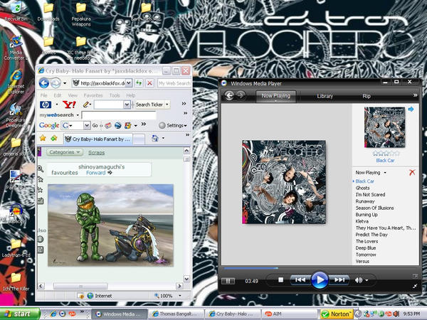 Desktop Screenshot of Ladytron by NotWolverine