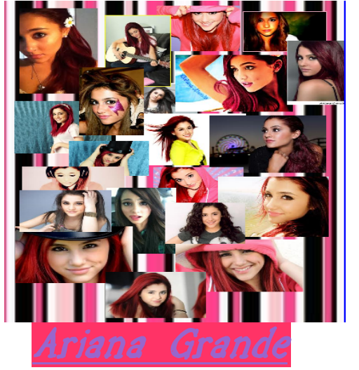 Ariana Grande by JamaicanGrl101 on DeviantArt