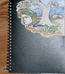 Sketchbook cover by bhakri