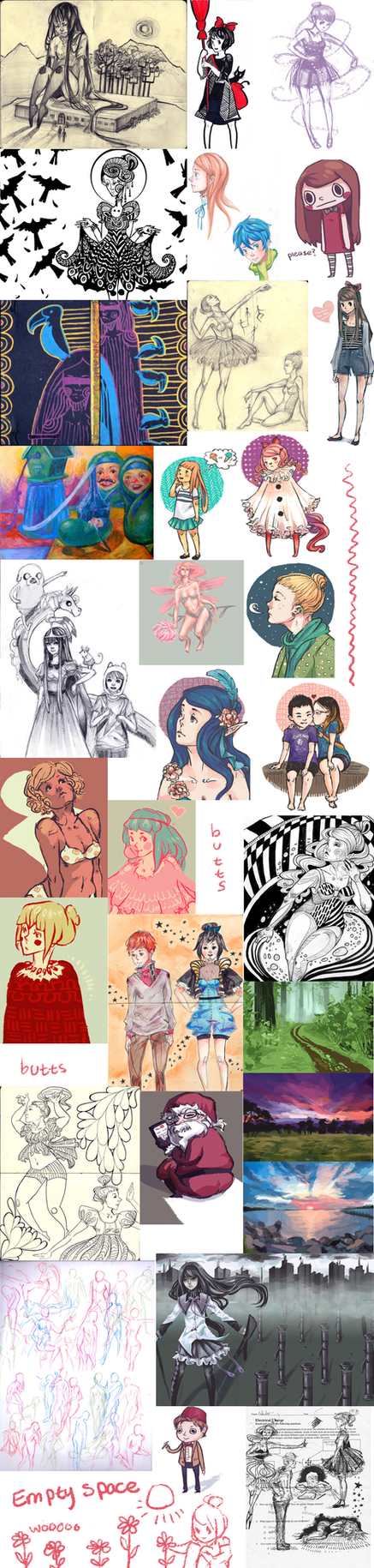 Tumblr Sketchdump by bhakri