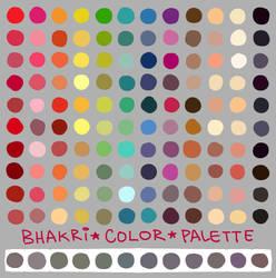 my color palette by bhakri