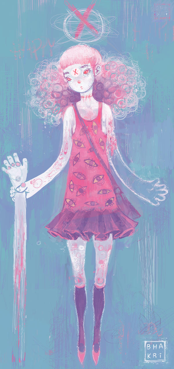 happy halloween, zombie child by bhakri
