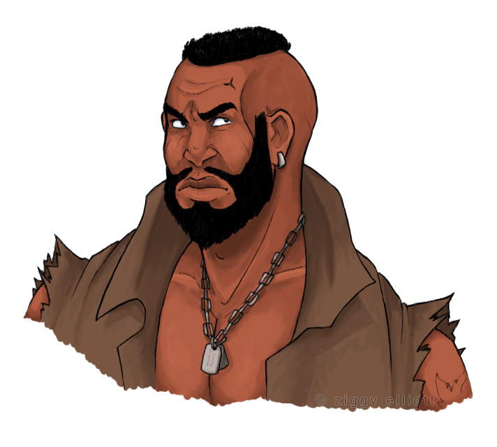 Barret by ibethepirate