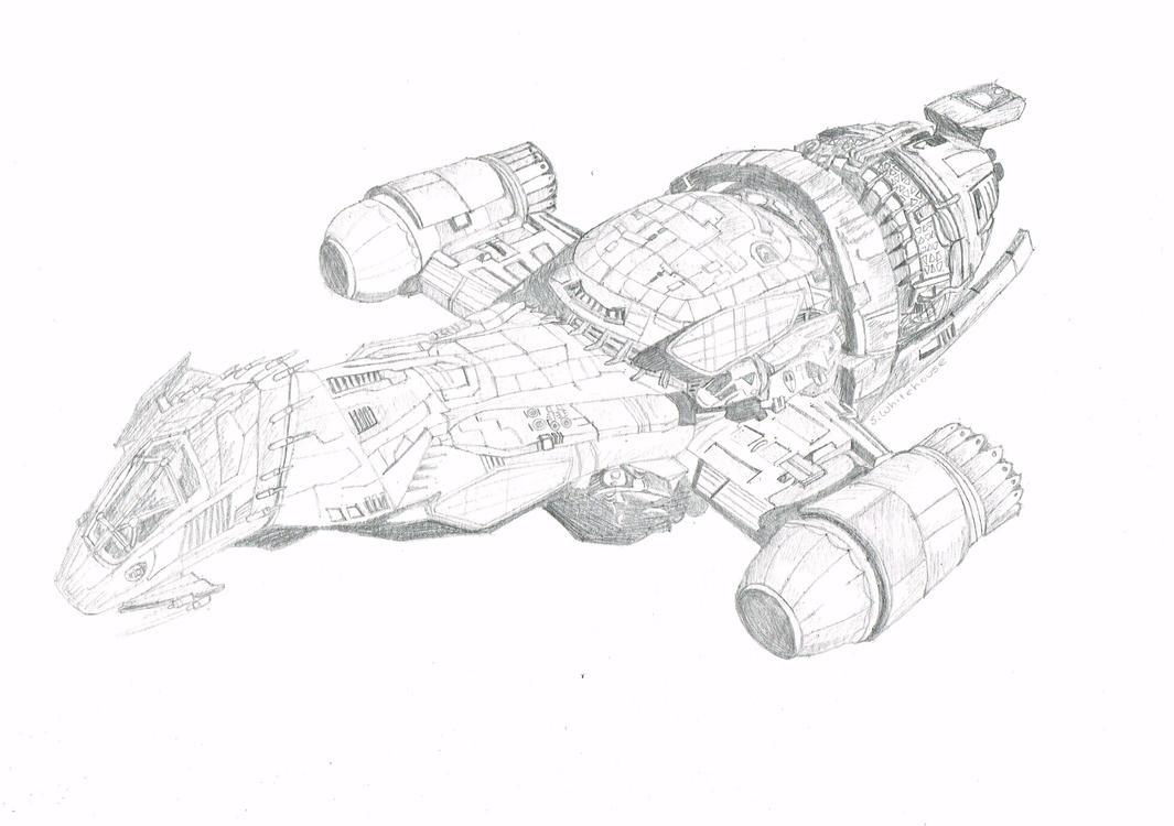 Serenity - Sketch by HeroJamesStar