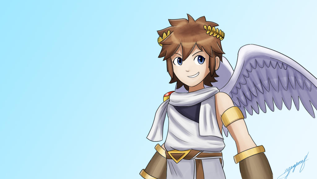 Pin Kid Icarus Pit Dart Pittoo Uprising Art On Pinterest