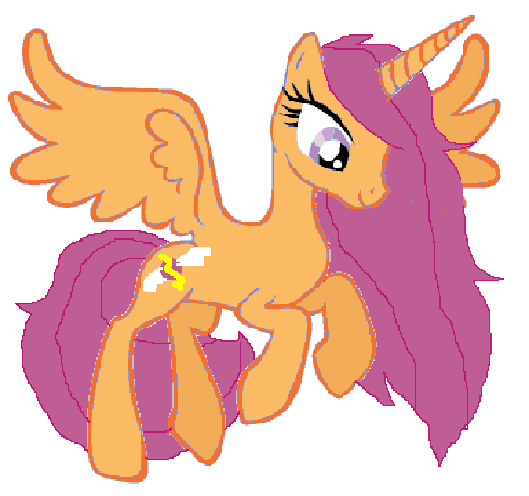 Scootaloo Alicorn Adult By H Umhallelujah On Deviantart Well, i have the first chapter done, the lavender alicorn pony sighed. scootaloo alicorn adult by h