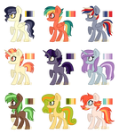 (Closed) Color Palette Adopts- MLP