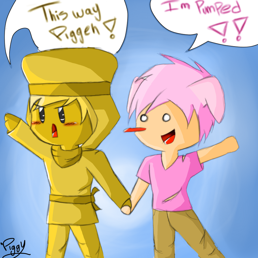 Join.Me Sketch: Stephano and Piggy by Piggy-The-PumpedPig ...