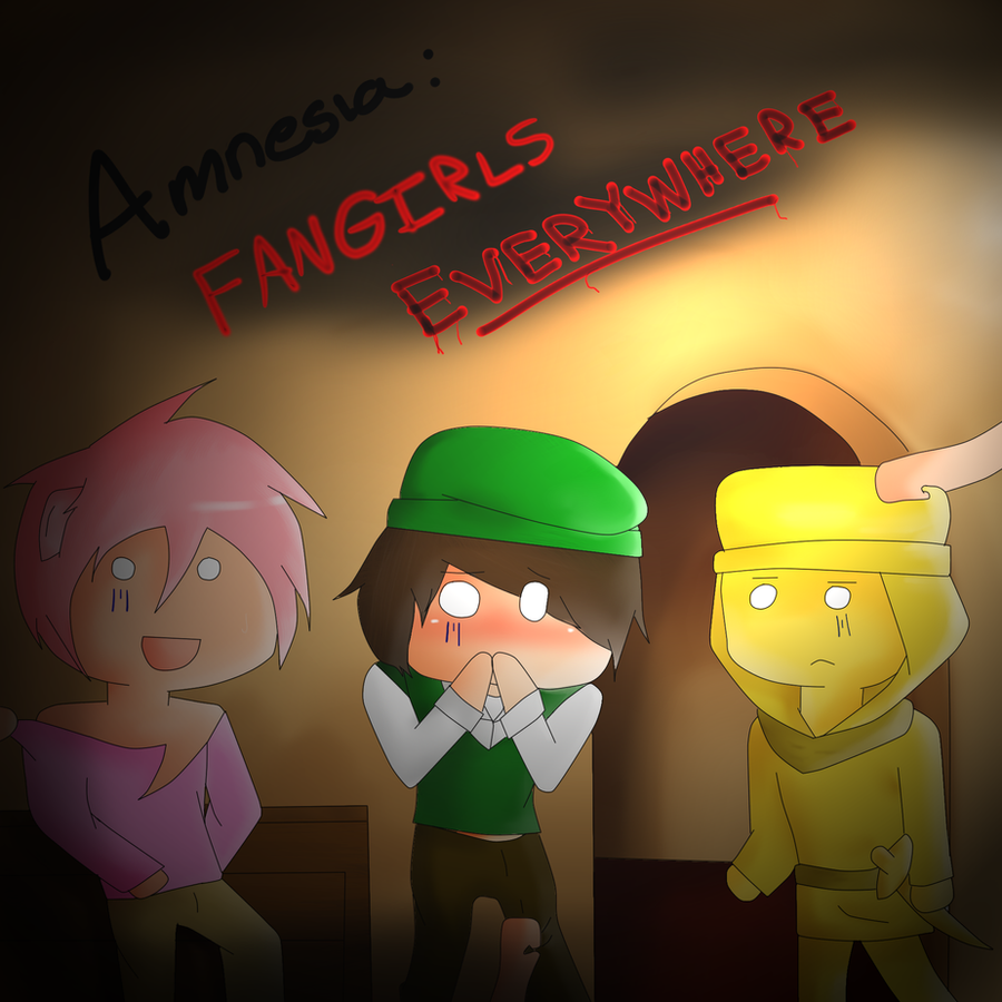 Amnesia: Fangirls Everywhere .:Possible Comic:. by Piggy-The-PumpedPig
